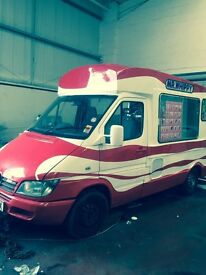 2004 MERCEDES SPRINTER MR WHIPPY ICE CREAM VAN