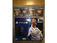 New ps4 pro 5 games warranty delivery