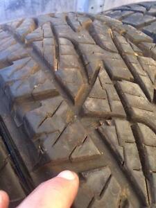 4 pneus lt 245/75r17 bridgestone 10 plies