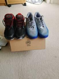 Adidas climacole and nike