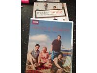 Gavin and Stacey & modern family DVDs