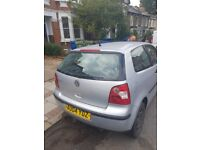 2004 VW Polo. Engine in great condition but car has superficial damage