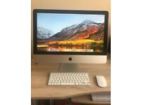 "Apple iMac 2013, 21.5"" Intel Iris Pro, 8GB Ram, 1TB HD, High Sierra, free from any marks or damage."