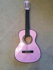 Play On Acoustic Guitar (pink)