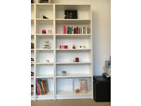 5 IKEA Billy Bookshelves White *Great Condition* £25 each