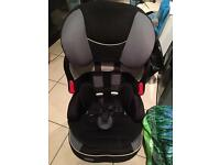 Child's Babystart car seat
