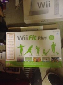 Give me an offer£ - Nintendo Wii with games and wii fit plus board