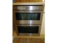 Neff built in double oven