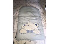 Nap mat blue