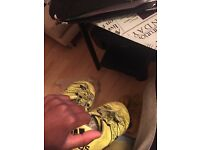 Adidas X 15.1 FG/AG (Size 9) Yellow/Black