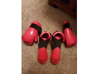 Macho martial arts hand and foot protectors