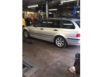 BMW 316i Touring for repair or parts. Non runner, replacement valve needed. £400