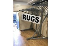 Rug Display Stand