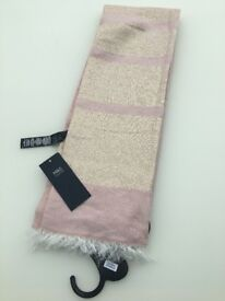 Brand New M&S blush scarf with tags