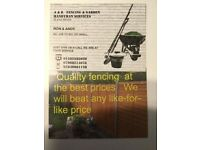 FENCEING good quality fencing at the best prices