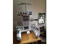 Brother PR655e Entrepreneur Embroidery Machine - PR 655e