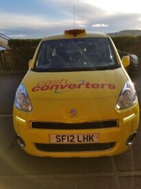 Peugeot Partner Taxi available now Day Shift, Night Shift or 24/7 Street Car or with Office