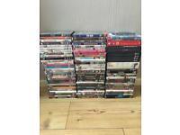 DVDs nearly 100 of them