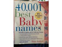 40,001 Best Baby Names Book - by Diane Stafford