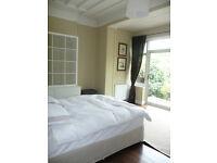 Spacious Double & Single Room Garden Flat NW2 £840 & £640