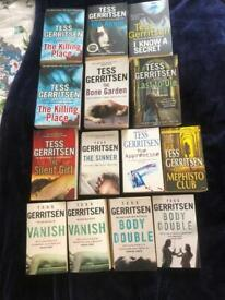 Large selection of Tess Gerritsen books