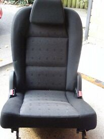 CAR SEAT, ADDITIONAL PLUG-IN SEAT, FOR PEUGEOT ESTATE CAR