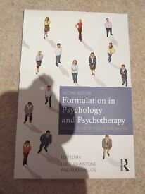 Formulation in Psychology and Psychotherapy Textbook