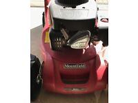 Mountfield HP414 petrol lawn mower (yes, it's available)