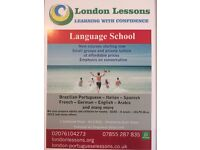 English classes - Small groups - £5 per hour -New courses starting Now - London Lessons -1x1 tuition