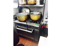 6 Large industrial cooking pots for restaurants!