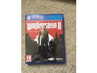 Wolfenstein II - 2. PS4 Game. £15