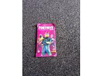 Fortnite reloaded trading cards