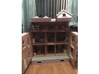 Dolls House large plus accessories