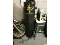 Gold Gym Punch / Boxing Bag with Wall bracket.