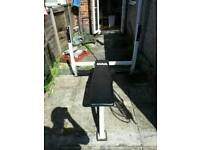 Olympic weights bench