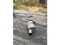 Ford escort Rs turbo full series 2 exhaust