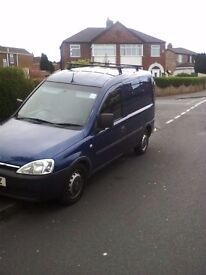 VAUXHALL COMBO VAN - 10 PLATE - 1.3CDTI - MOT UNTIL FEB 18 - may take P/x