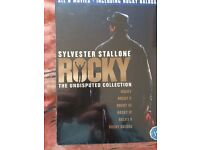 Disney DVDs and rocky collection
