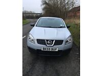59 plate Nissan Qashqai with only 63,000 miles on the clock. In great condition Passed MOT 25.1.17