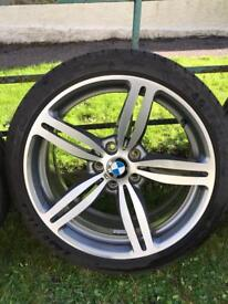 "BMW 19"" alloys / wheels 5 series. genuine m5 e60"
