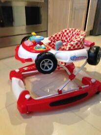 F1 baby walker