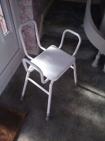Bath / Showerside Chair / Stool Mobility Aid