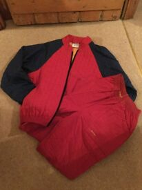 Men's medium sized jacket and matching trousers by Rohan.