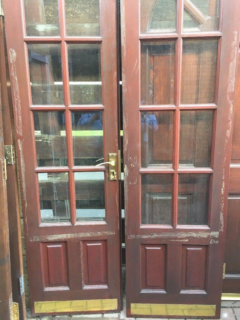 Mahogany French Doors In Polmont Falkirk Gumtree