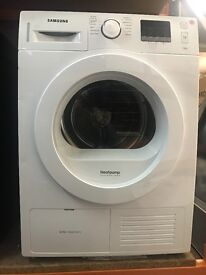 WHITE SAMSUNG CONDENSOR DRYER
