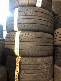 295/35/21 tyres x4 matching set