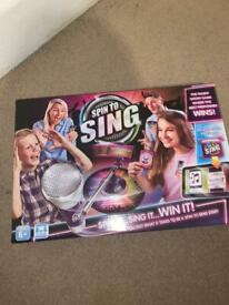Spin to sing game