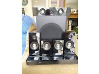 Samsung HT-C5500/XEU 5.1 Ch Blu-ray Home Theater System; Good Working Order; New Speaker Cables