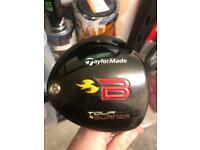 Taylormade Tour Burner Driver 9.5 deg Stiff flex
