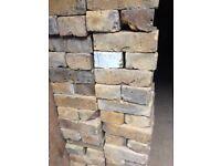 Original old yellow stock bricks